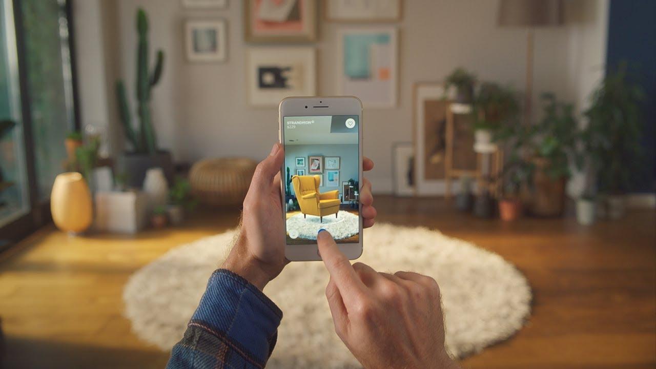 The Ikea Place app